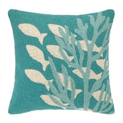 Underwater Cotton Throw Pillow