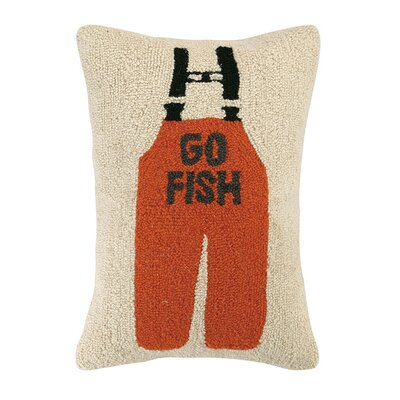 Go Fish Cotton Lumbar Pillow