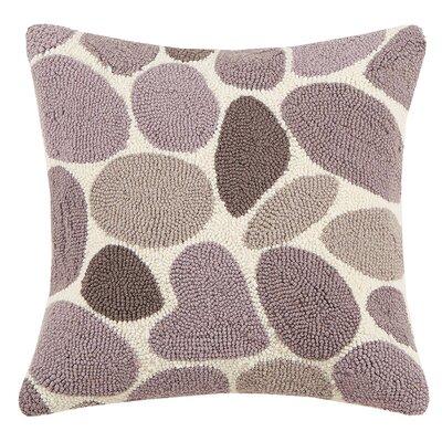 Lucky Rock Hook Wool Throw Pillow
