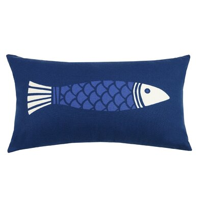 Colorfish Indoor/Outdoor Lumbar Pillow