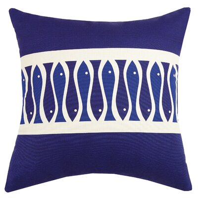 Colorfish Indoor/Outdoor Throw Pillow