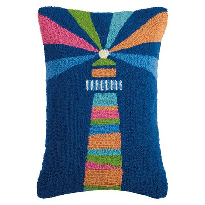 Glenview Lighthouse Wool Lumbar Pillow