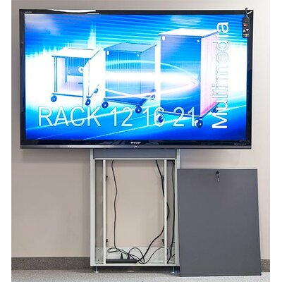 Plasma/LCD/Touch Screen Electric Lift Stand 90 Floor Stand Mount Flatscreen