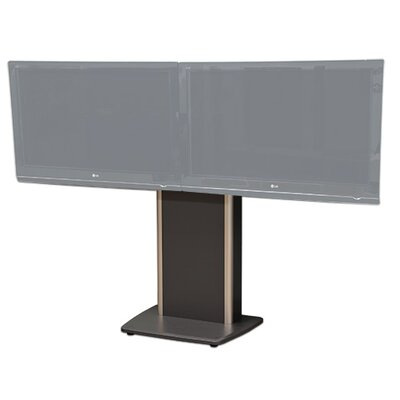 Fixed Base Telepresence Stand for 32 - 70 Diplays Finish: Auburn Pear