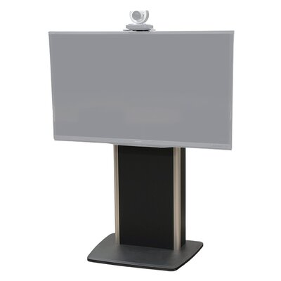 Fixed Base Telepresence Stand for 40 - 80 Displays Finish: Brushed Aluminum
