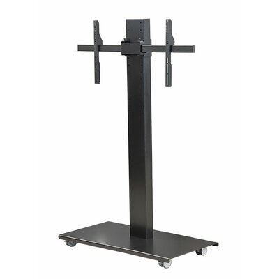 SYZ84-XL Universal Mobile TV Stand Finish: Black