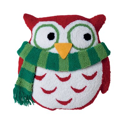 Owl 3D Hooked Throw Pillow