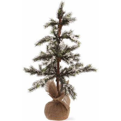 "Snowy Spruce Tree Home Accent Size: 20"" H X 12"" W X 12"" D"