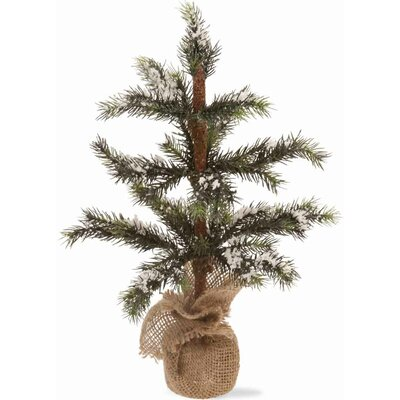 "Snowy Spruce Tree Home Accent Size: 14.5"" H X 9"" W X 9"" D"