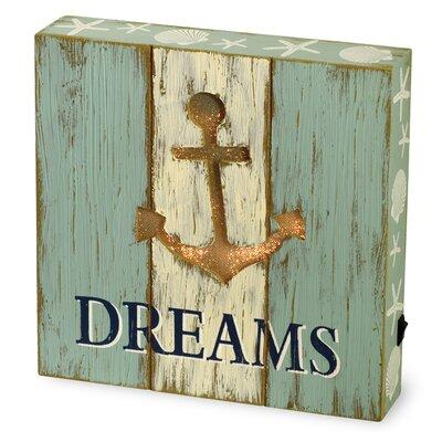 Dreams LED Tabletop Art