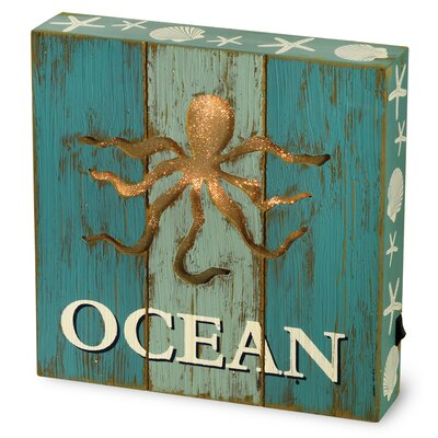 Boston International Ocean LED Tabletop Art