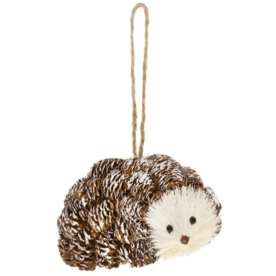 Pinecone Hedgehog Ornament (Set of 2)