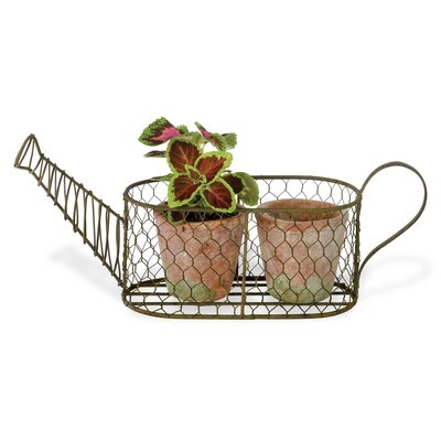2-Piece Terracotta Pot Planter Set