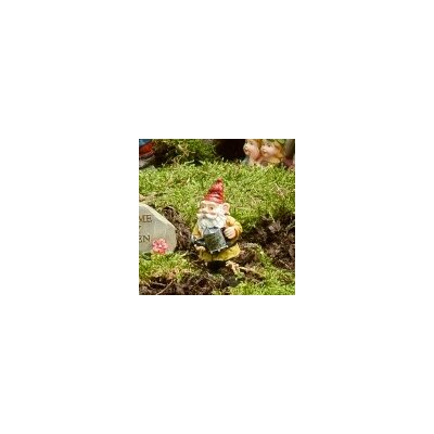 Watering Can Gnome Pick Statue (Set of 3)