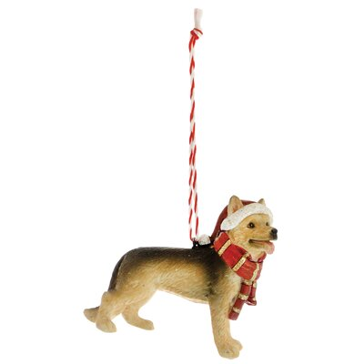 German Shepherd Hanging Figurine THDA3580 42387630