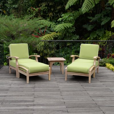 Monterey 5 Piece Lounge Seating Group with Cushion