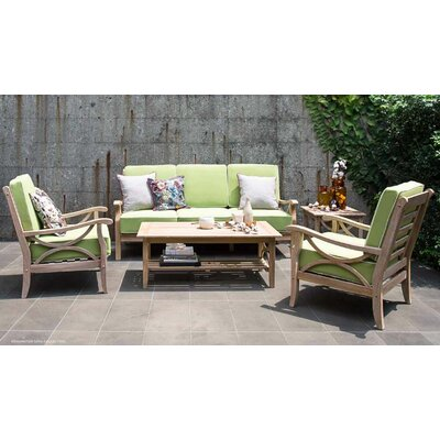 Kensington 5 Piece Teak Sofa Set With Cushions