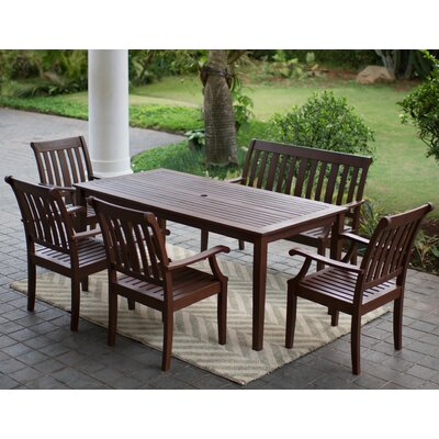 Como 6 Piece Dining Set