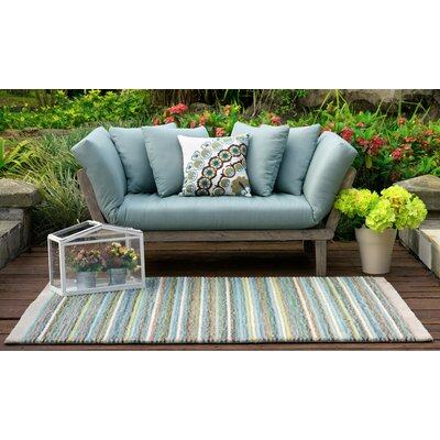 Porto Loveseat with Cushions Fabric: Spruce Blue