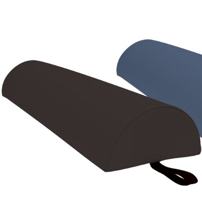 Jumbo Half Round Bolster Color: Black
