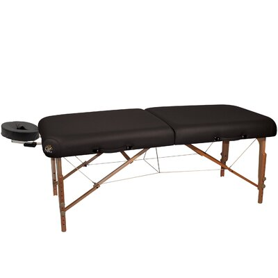 Ultimate Portable Massage Table Color: Black