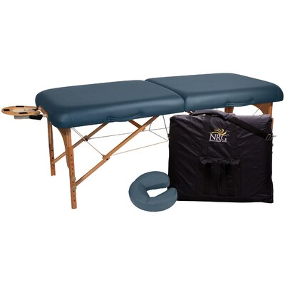 Deluxe Portable Massage Table Color: Agate