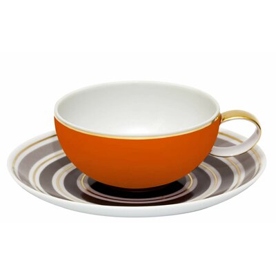 Vista Alegre Casablanca Tea Cup and Saucer (Set of 4) 21108613