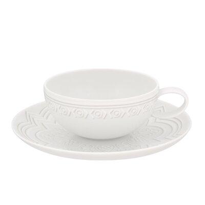 Vista Alegre Ornament Tea Cup and Saucer (Set of 4) 21111695