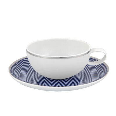 Vista Alegre Harvard Tea Cup and Saucer (Set of 4) 21111726