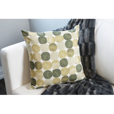 Throw Pillow Color: Green