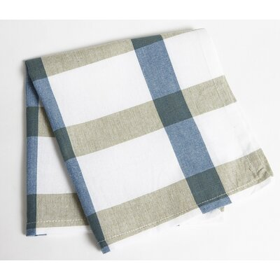 Check Napkin Color: Blue/Green