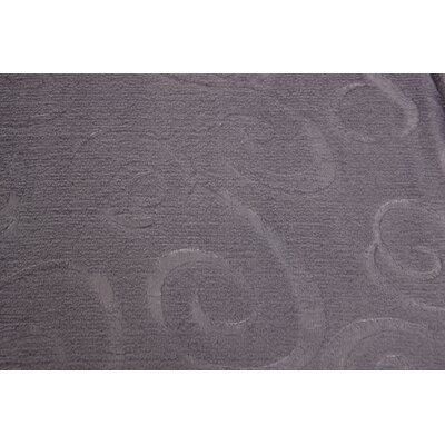 Silky Swirl Throw Blanket Color: Purple