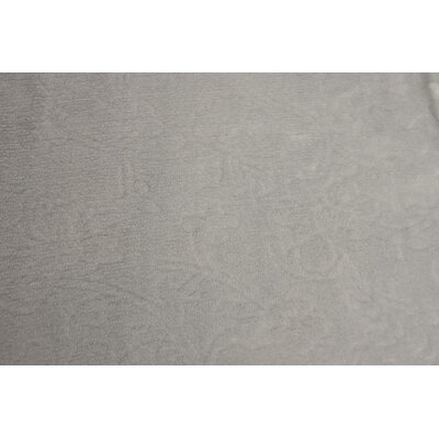 Silky Flora Throw Blanket Color: Silver