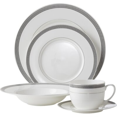 Bone China Inspiration Pearl 5 Piece Place Setting
