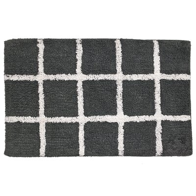 Hopscotch Bathroom Doormat Color: Gray
