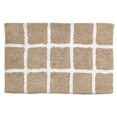 Hopscotch Bathroom Doormat Color: Sand