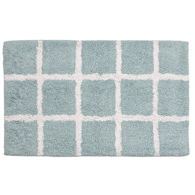 Hopscotch Bathroom Doormat Color: Sky Blue