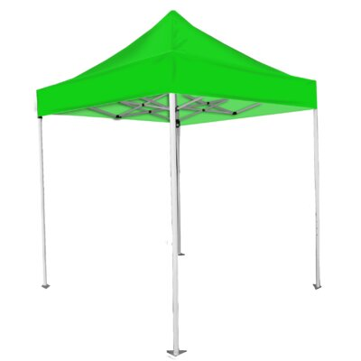 8 Ft. W x 8 Ft. D Canopy Color: Green