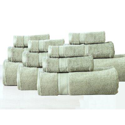 Huntington 12 Piece Towel Set Color: Spruce