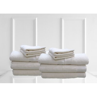 Dream Castle Delano 12 Piece Towel Set Color: Beige