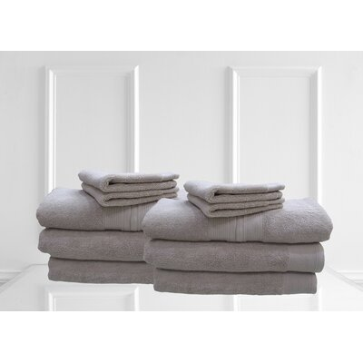 Dream Castle Delano 12 Piece Towel Set Color: Canvas