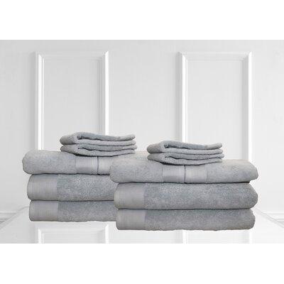 Dream Castle Delano 12 Piece Towel Set Color: Sea Blue