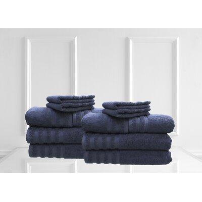 Dream Castle Brentwood 12 Piece Towel Set Color: Azure