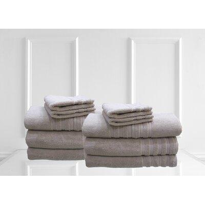 Dream Castle Brentwood 12 Piece Towel Set Color: Sand