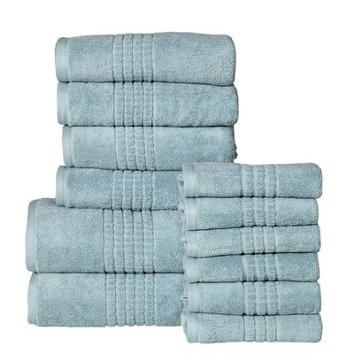 Campbelltown 12 Piece Towel Set Color: Sea Blue