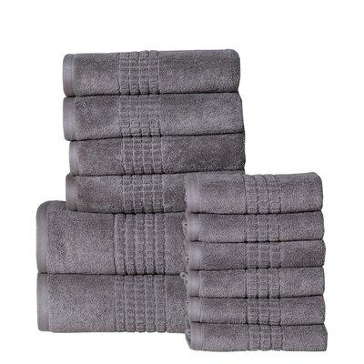 Campbelltown 12 Piece Towel Set Color: Steel