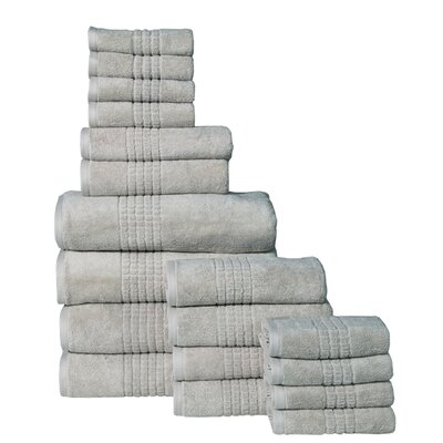 Campbelltown 18 Piece Towel Set Color: Canvas