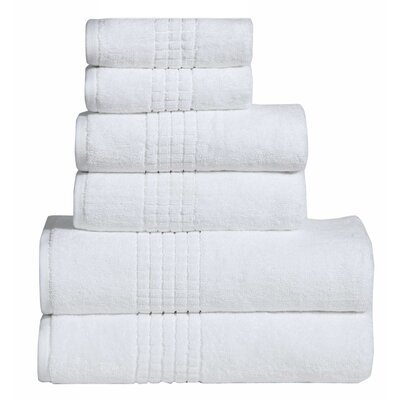 Polywood Mosaic Towel Set Color: Off White