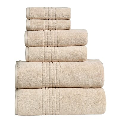 Polywood Mosaic Towel Set Color: Dark Beige