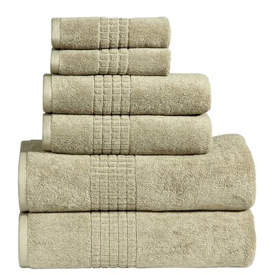 Polywood Mosaic Towel Set Color: Basil